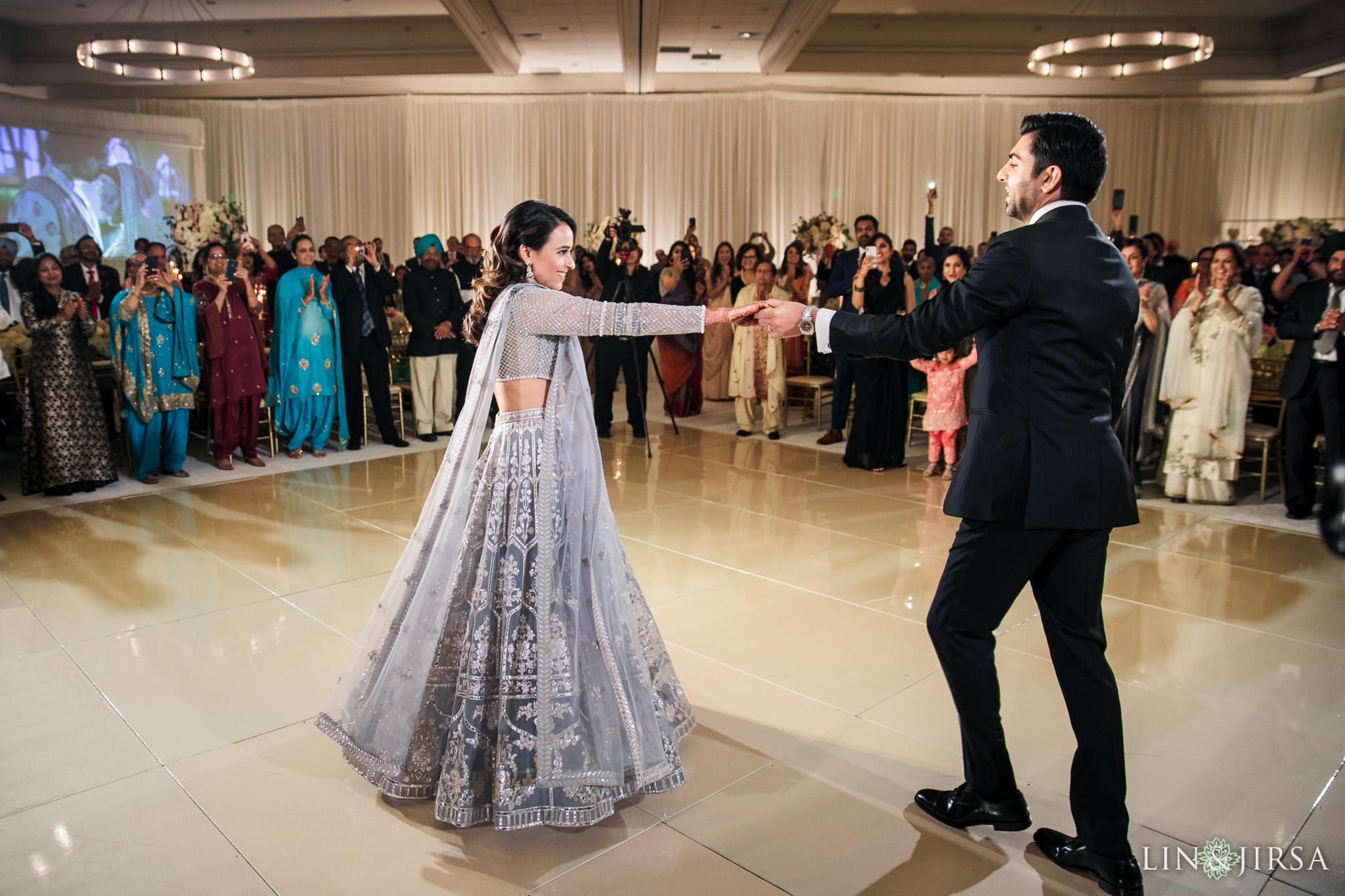 18 Hilton Santa Barbara Beachfront Resort Indian Wedding Reception Photography