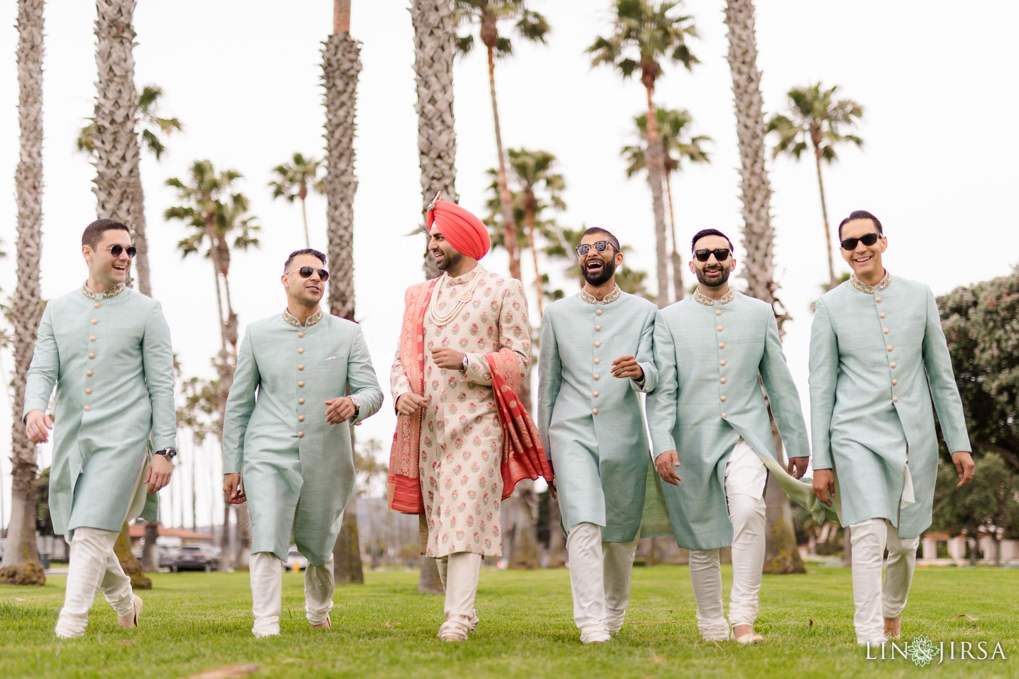18 Hilton Santa Barbara Beachfront Resort Punjabi Indian Wedding Ceremony Photography