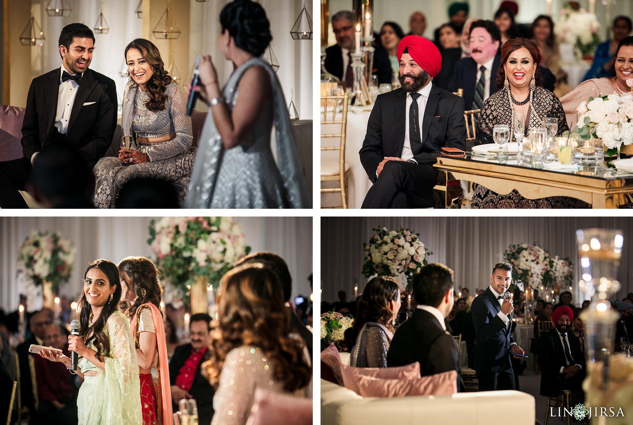 20 Hilton Santa Barbara Beachfront Resort Indian Wedding Reception Photography