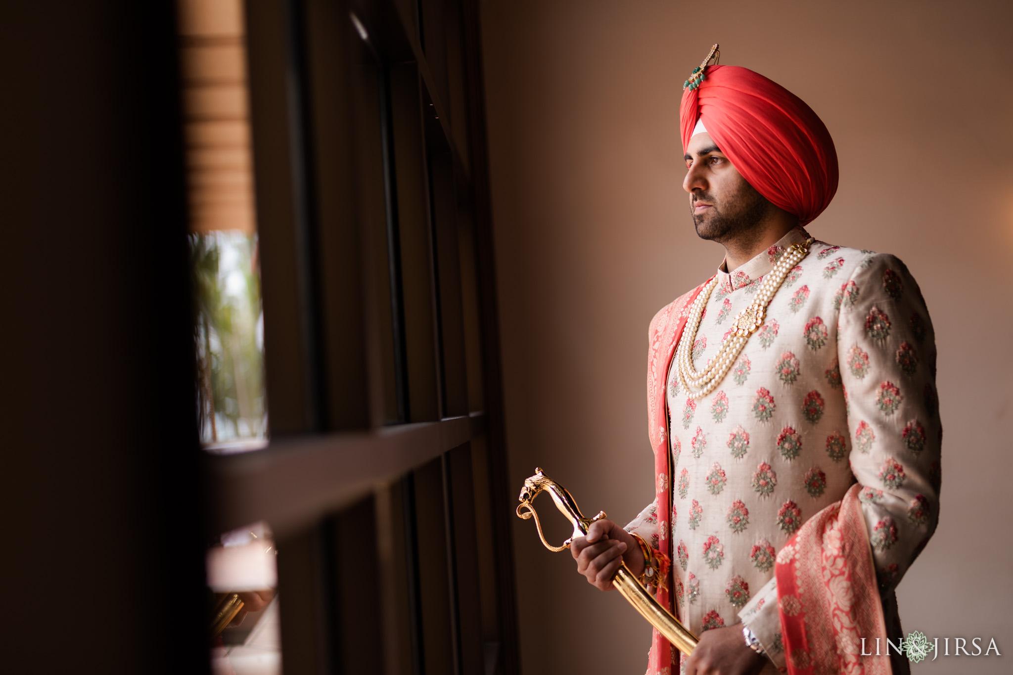 20 Hilton Santa Barbara Beachfront Resort Punjabi Indian Wedding Ceremony Photography