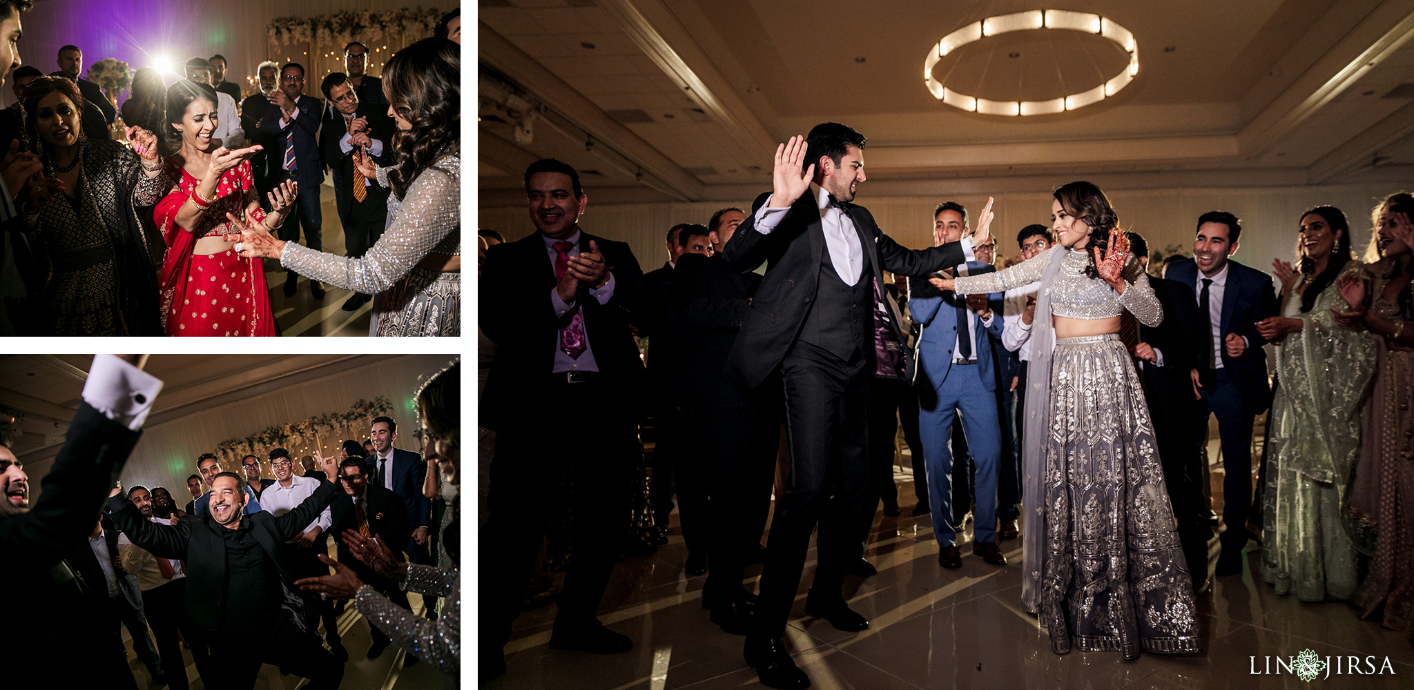 24 Hilton Santa Barbara Beachfront Resort Indian Wedding Reception Photography