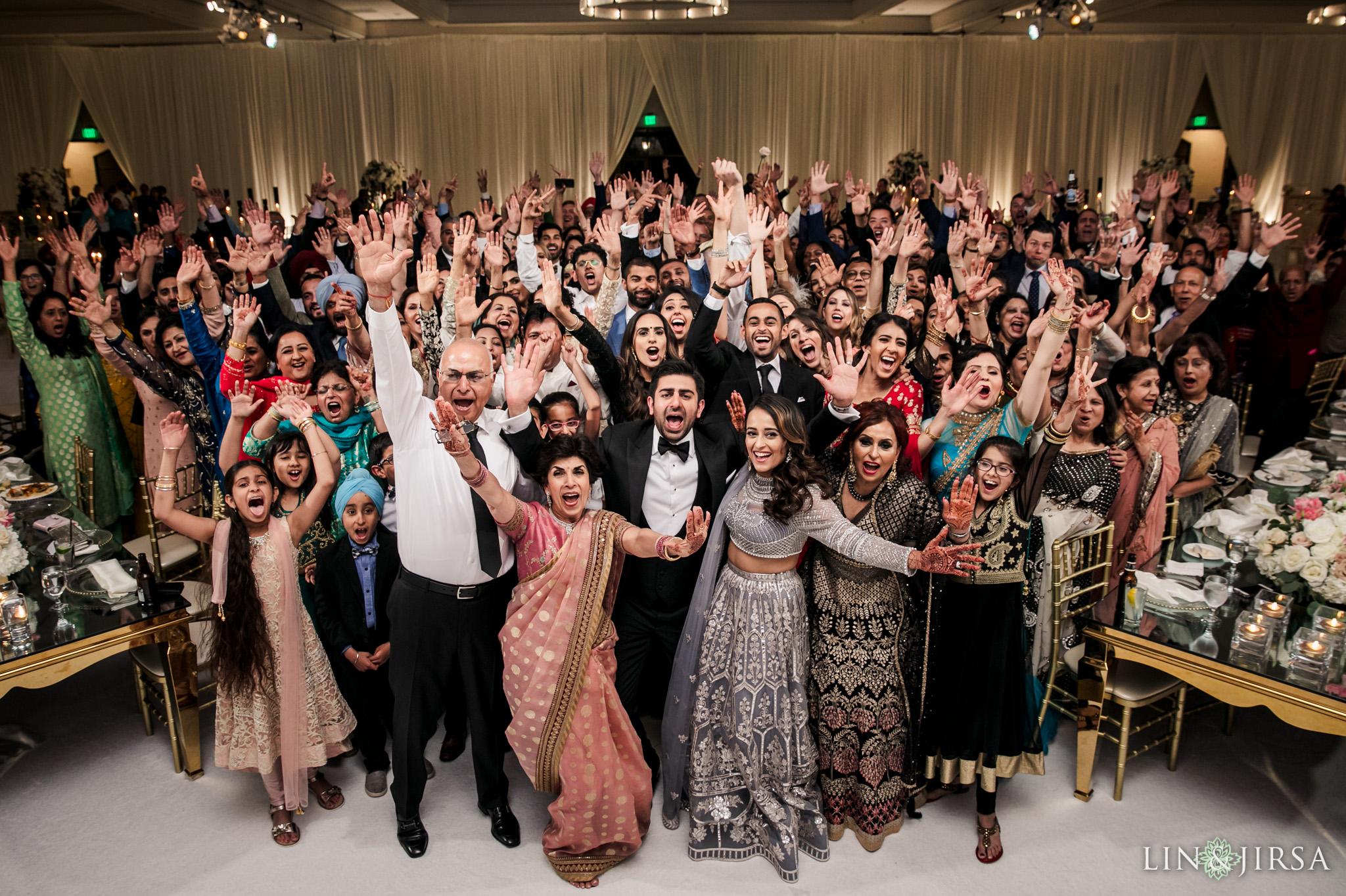 26 Hilton Santa Barbara Beachfront Resort Indian Wedding Reception Photography