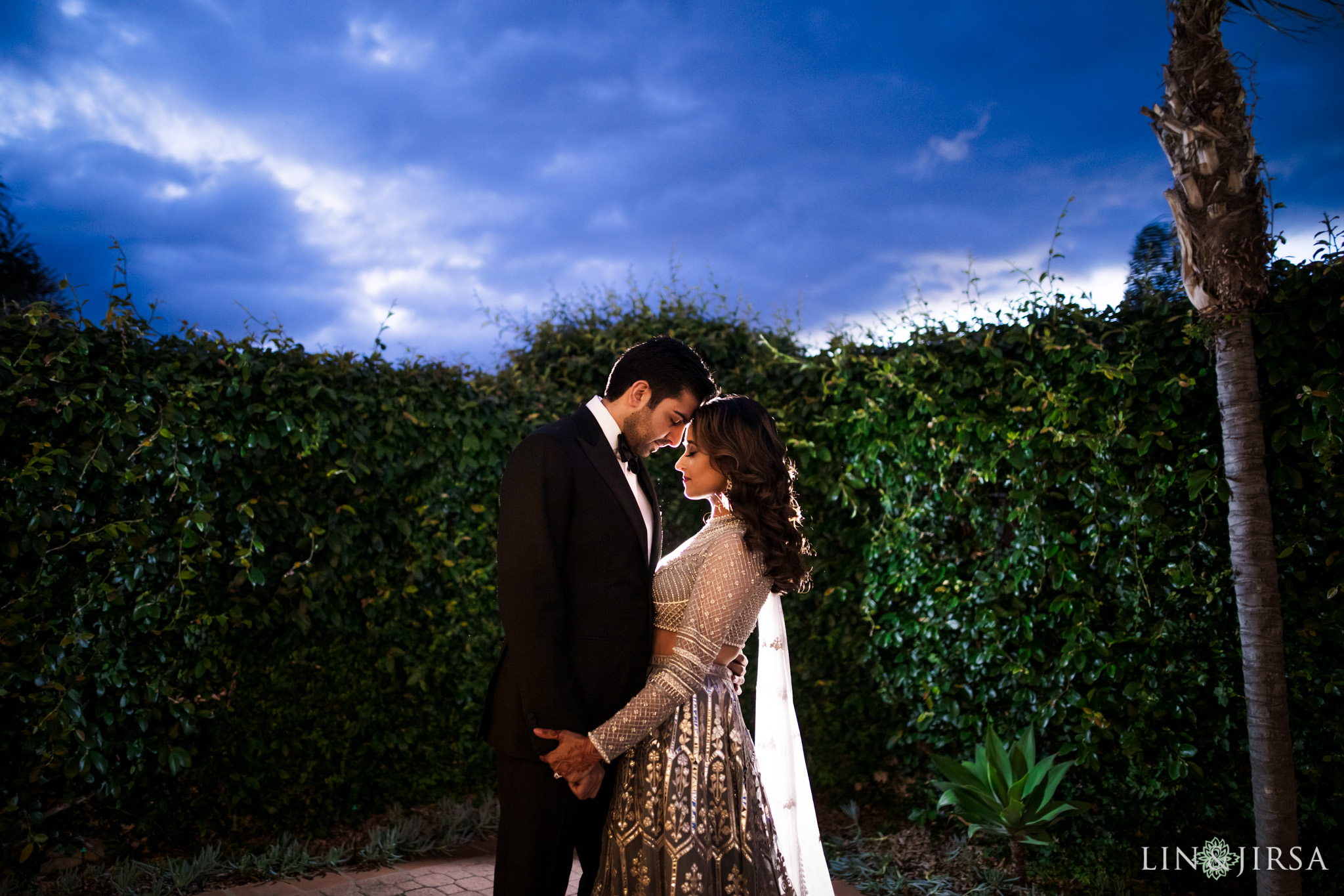 27 Hilton Santa Barbara Beachfront Resort Indian Wedding Reception Photography
