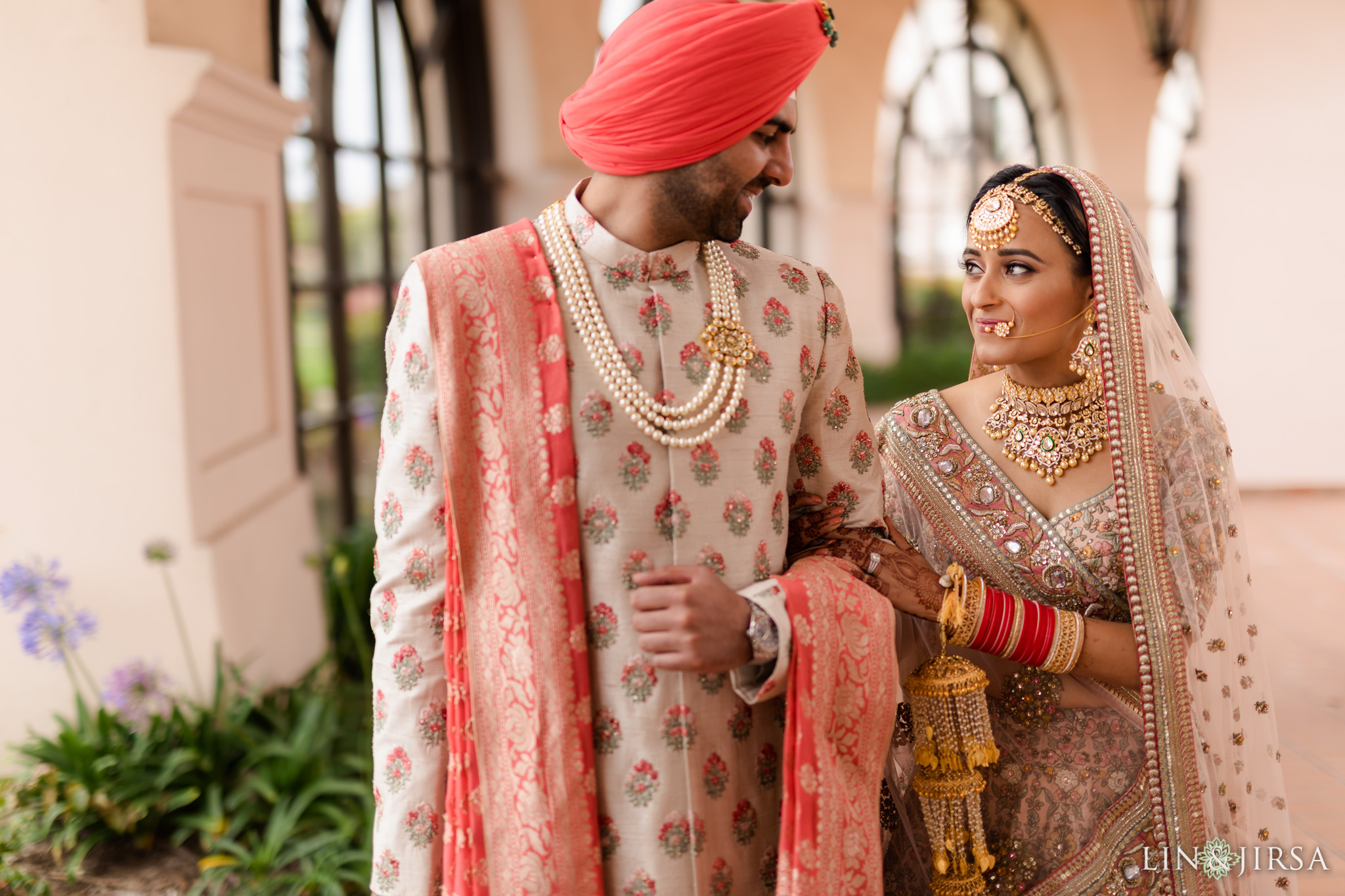 28 Hilton Santa Barbara Beachfront Resort Punjabi Indian Wedding Ceremony Photography