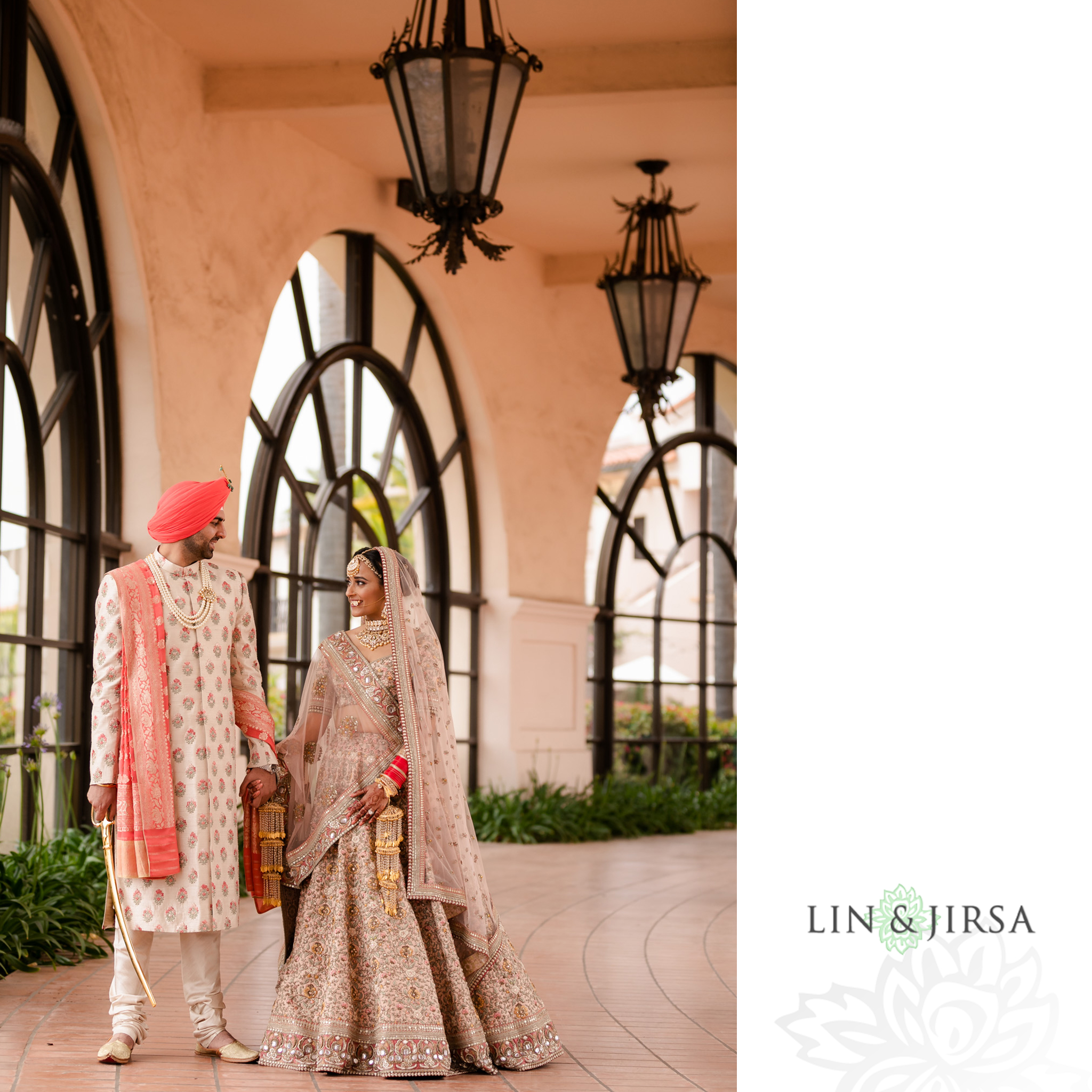 29 Hilton Santa Barbara Beachfront Resort Punjabi Indian Wedding Ceremony Photography