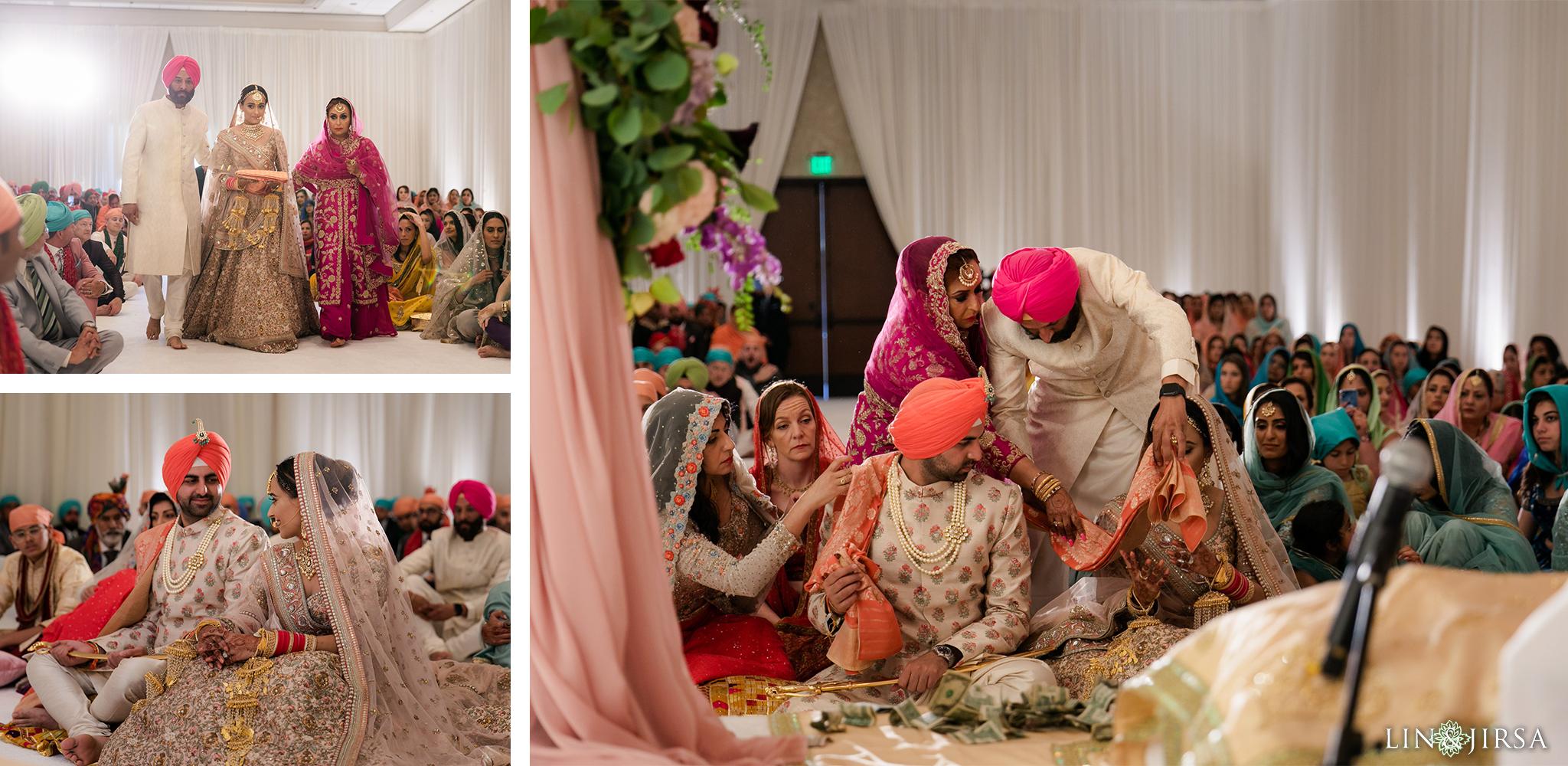 38 Hilton Santa Barbara Beachfront Resort Sikh Wedding Ceremony Photography