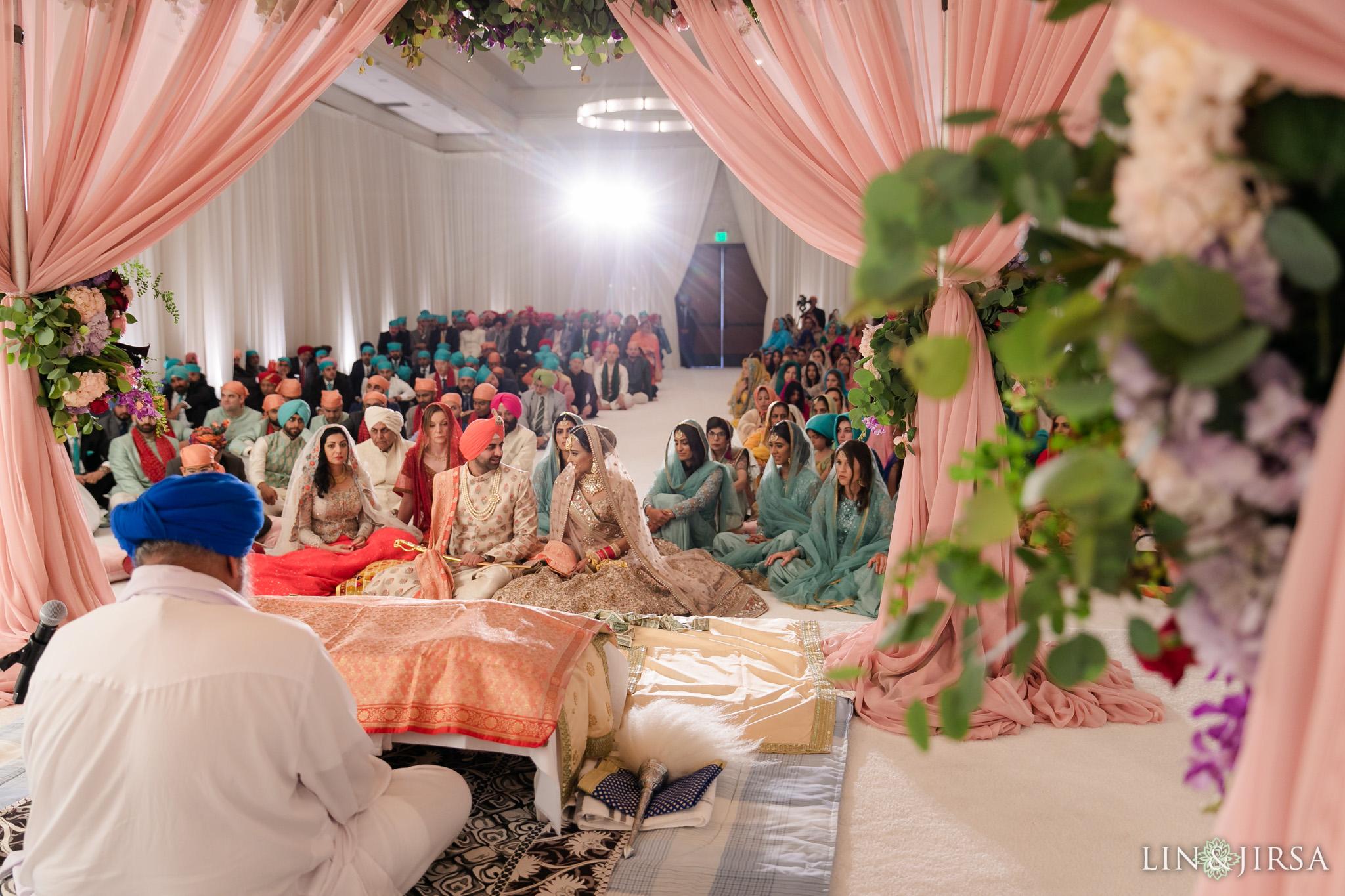 40 Hilton Santa Barbara Beachfront Resort Sikh Wedding Ceremony Photography