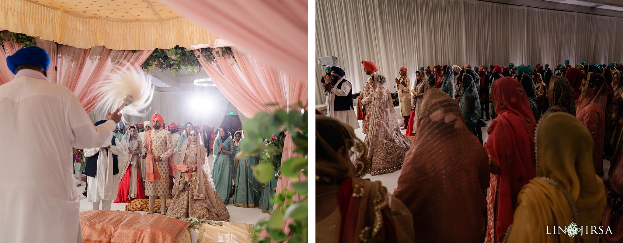 41 Hilton Santa Barbara Beachfront Resort Sikh Wedding Ceremony Photography