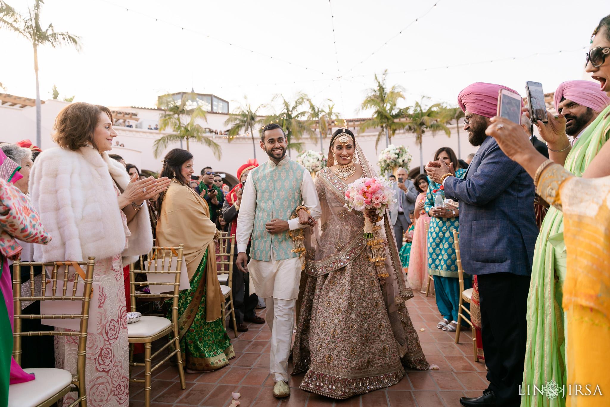48 Hilton Santa Barbara Beachfront Resort Hindu Wedding Ceremony Photography