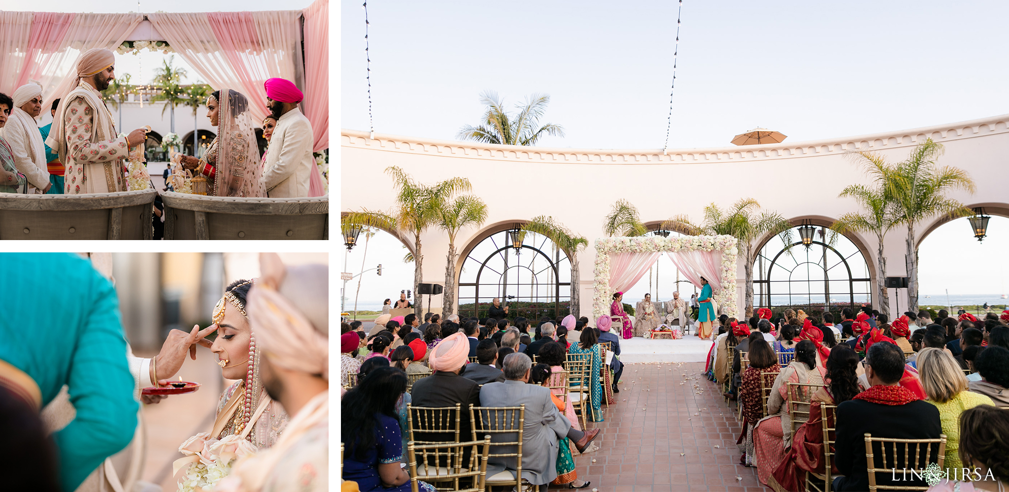 49 Hilton Santa Barbara Beachfront Resort Hindu Wedding Ceremony Photography