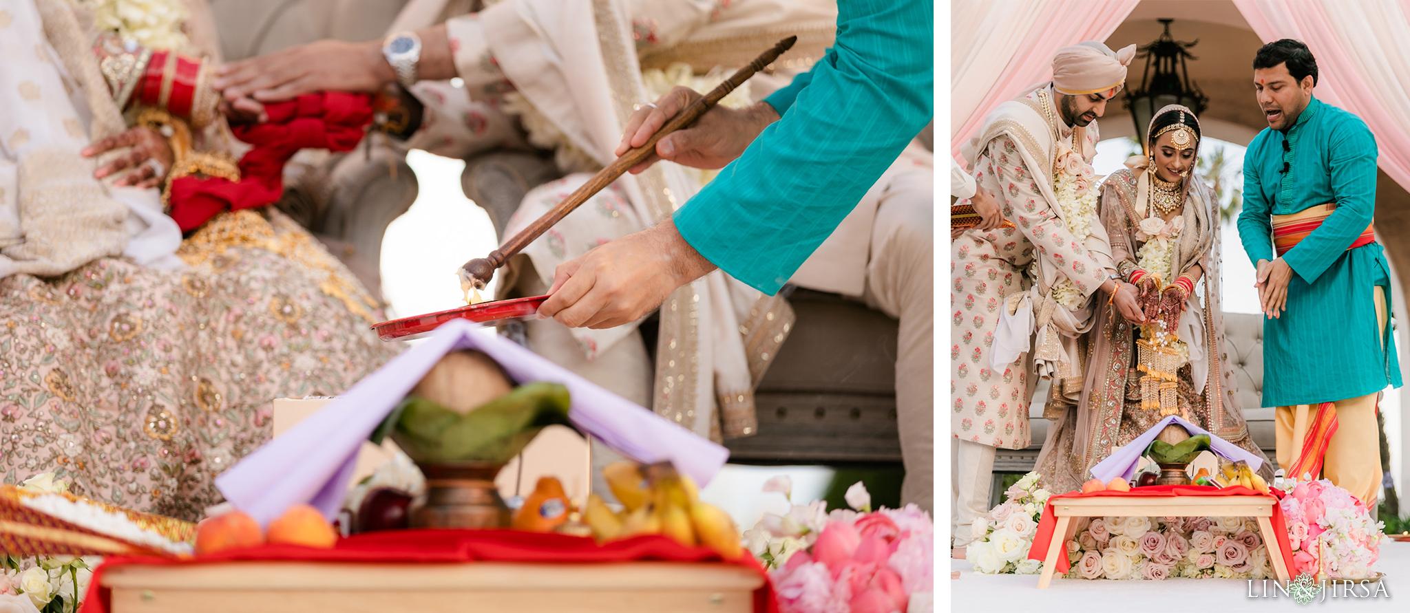 50 Hilton Santa Barbara Beachfront Resort Hindu Wedding Ceremony Photography