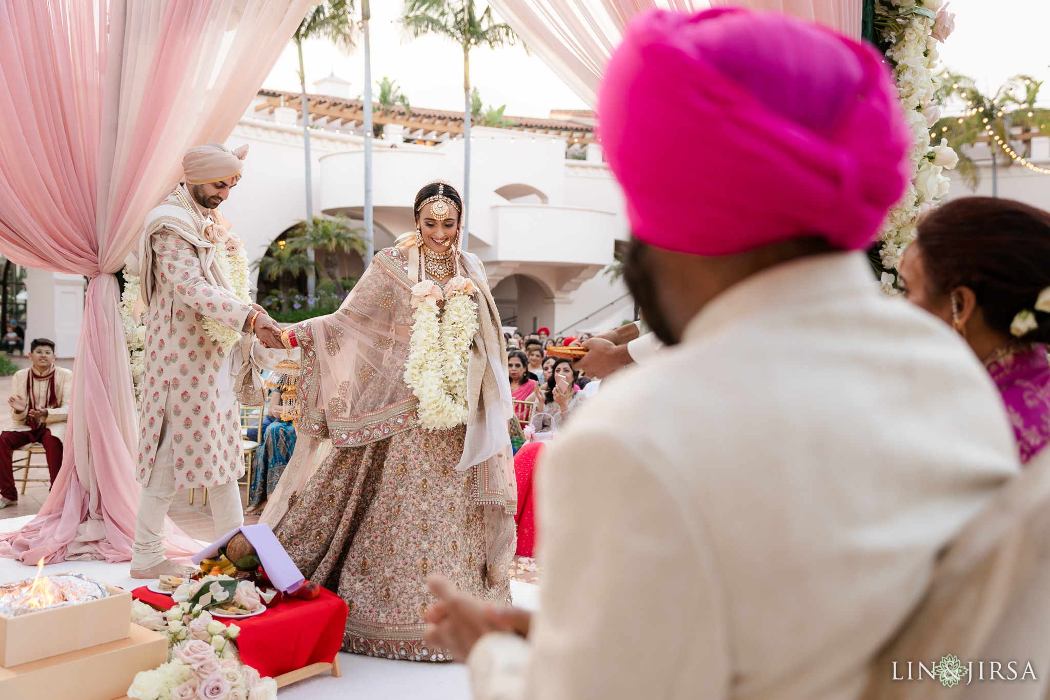 51 Hilton Santa Barbara Beachfront Resort Hindu Wedding Ceremony Photography