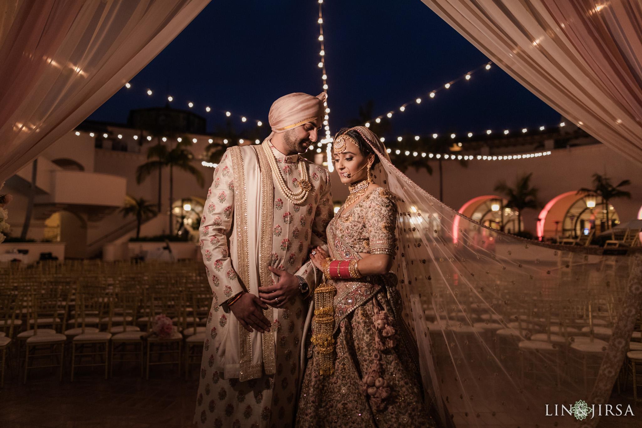 56 Hilton Santa Barbara Beachfront Resort Punjabi Indian Wedding Ceremony Photography