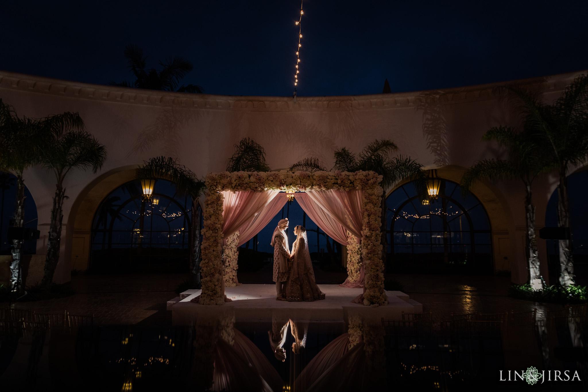 57 Hilton Santa Barbara Beachfront Resort Punjabi Indian Wedding Ceremony Photography