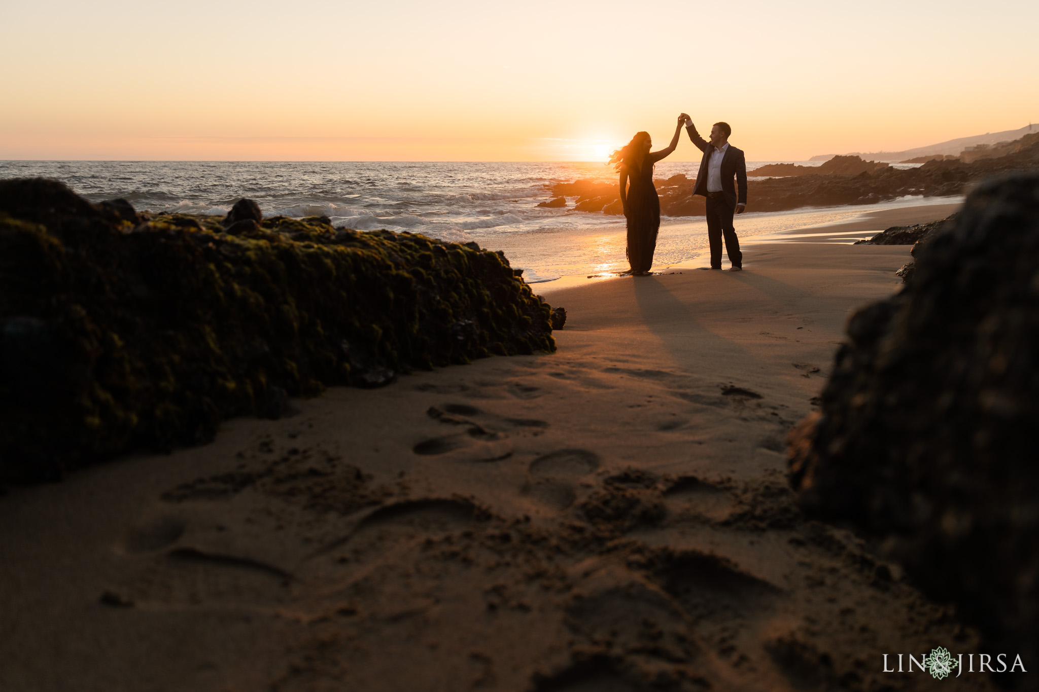 12 Laguna Beach Sunset Orange County Engagement Photographer
