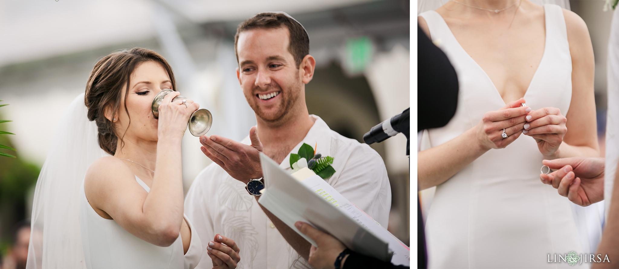 36 Hyatt Regency Huntington Beach Orange County Jewish Wedding Photography