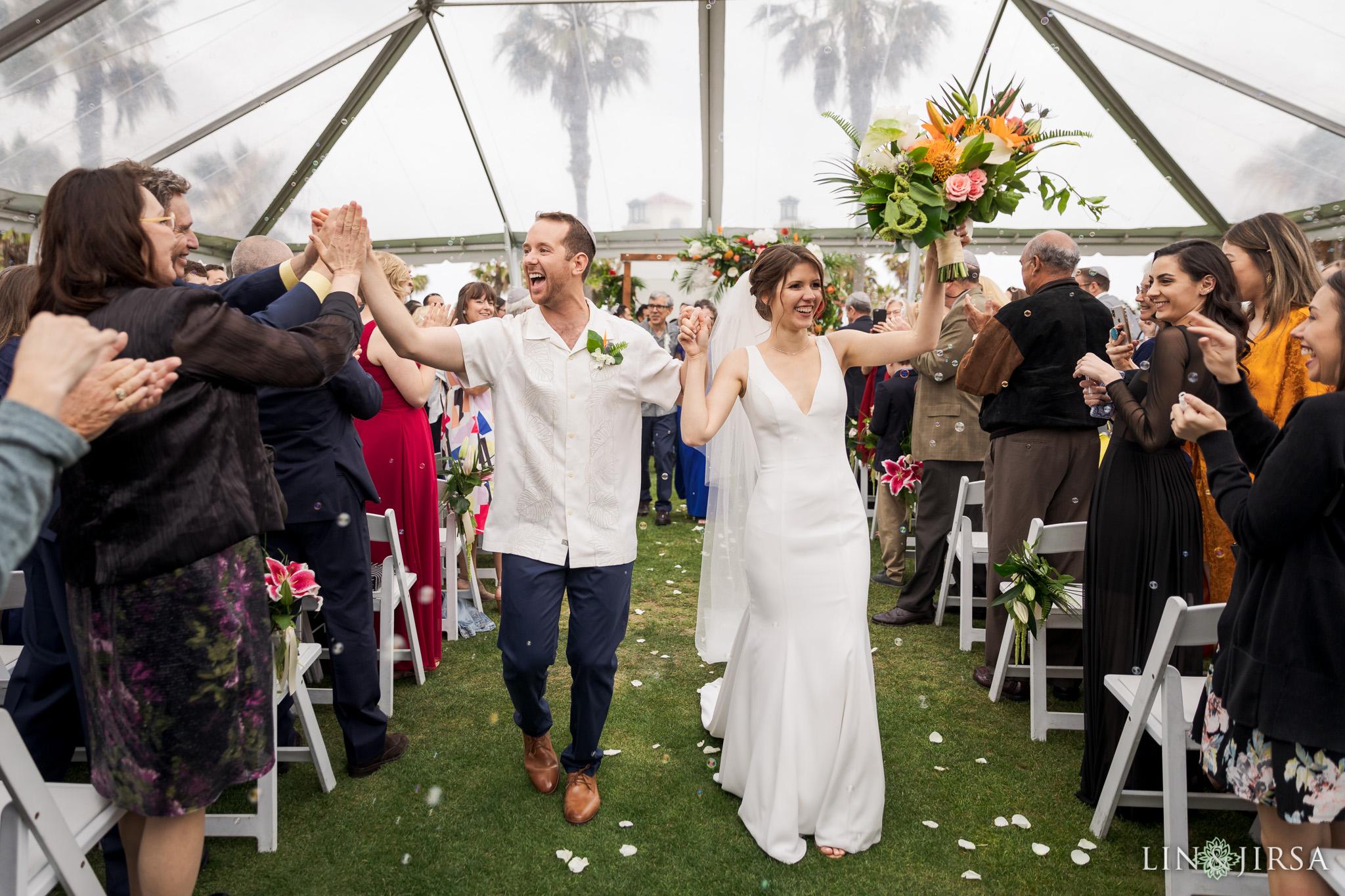 39 Hyatt Regency Huntington Beach Orange County Jewish Wedding Photography