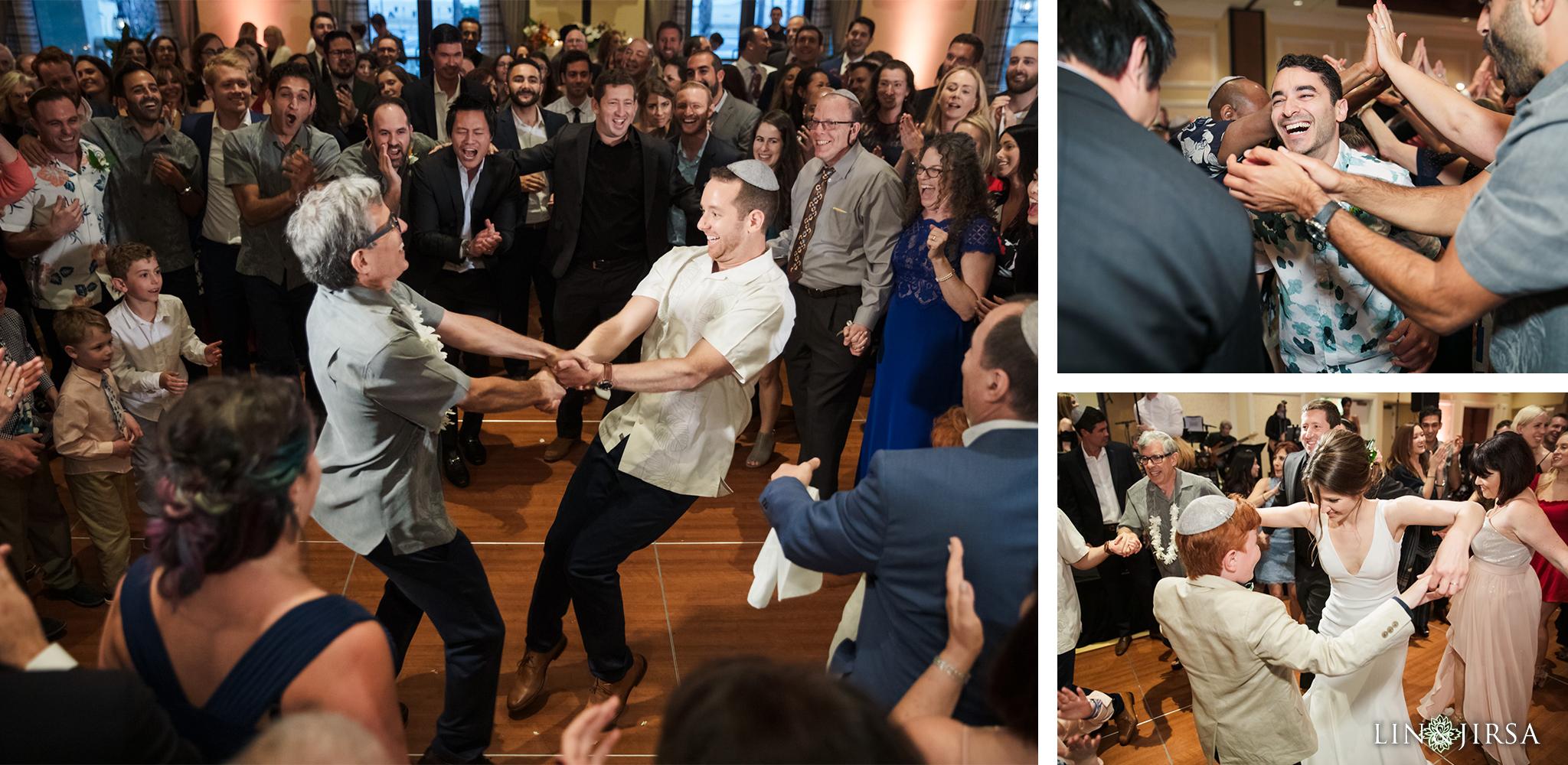 43 Hyatt Regency Huntington Beach Jewish Wedding Reception Photography