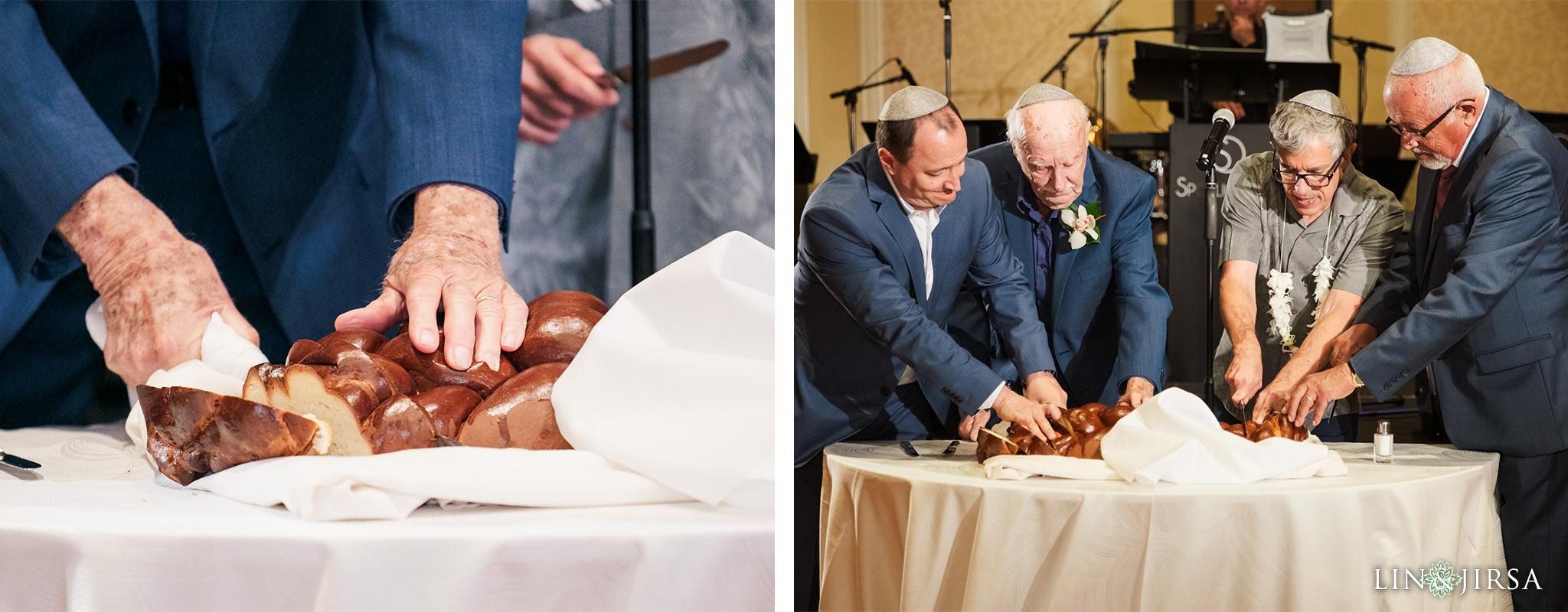 44 Hyatt Regency Huntington Beach Jewish Wedding Reception Challah Bread Photography.jpg