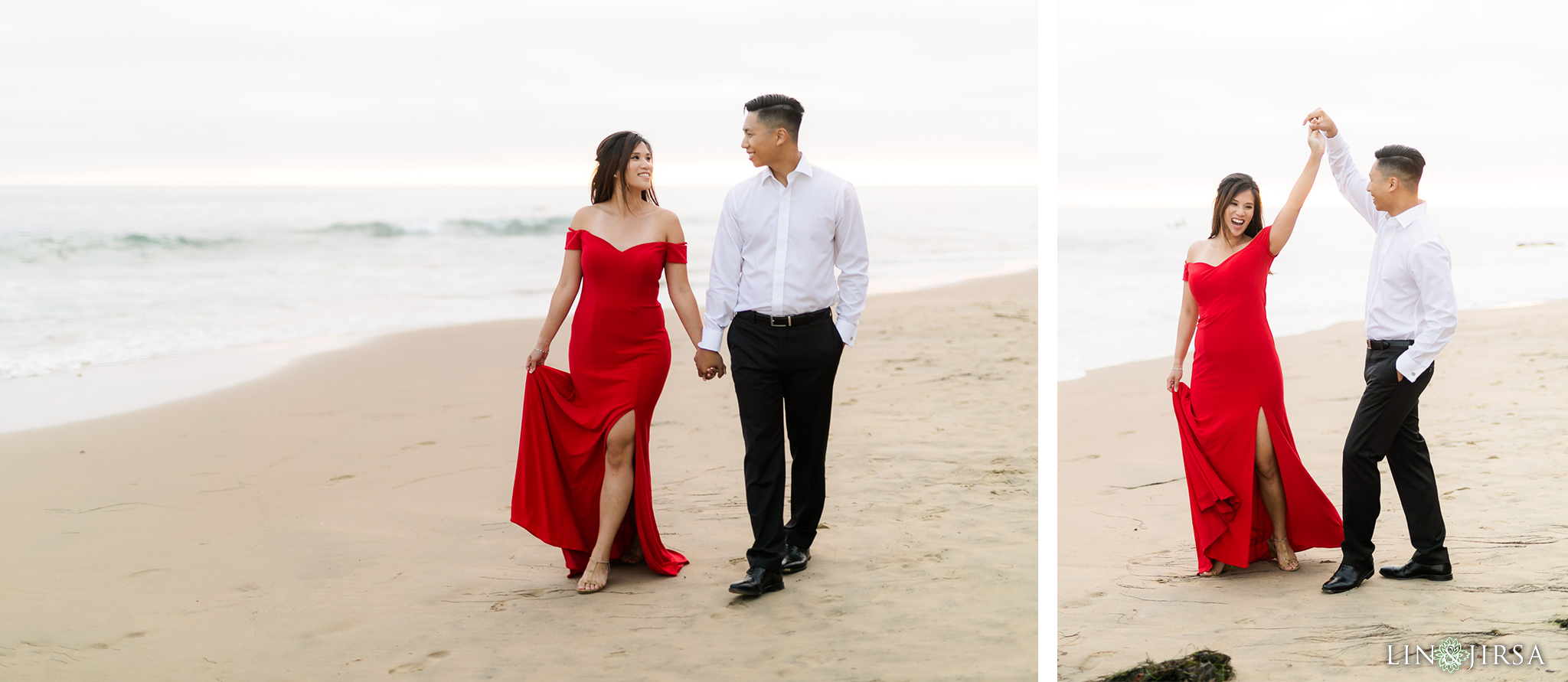 82 Crystal Cove Newport Beach Engagement Photography