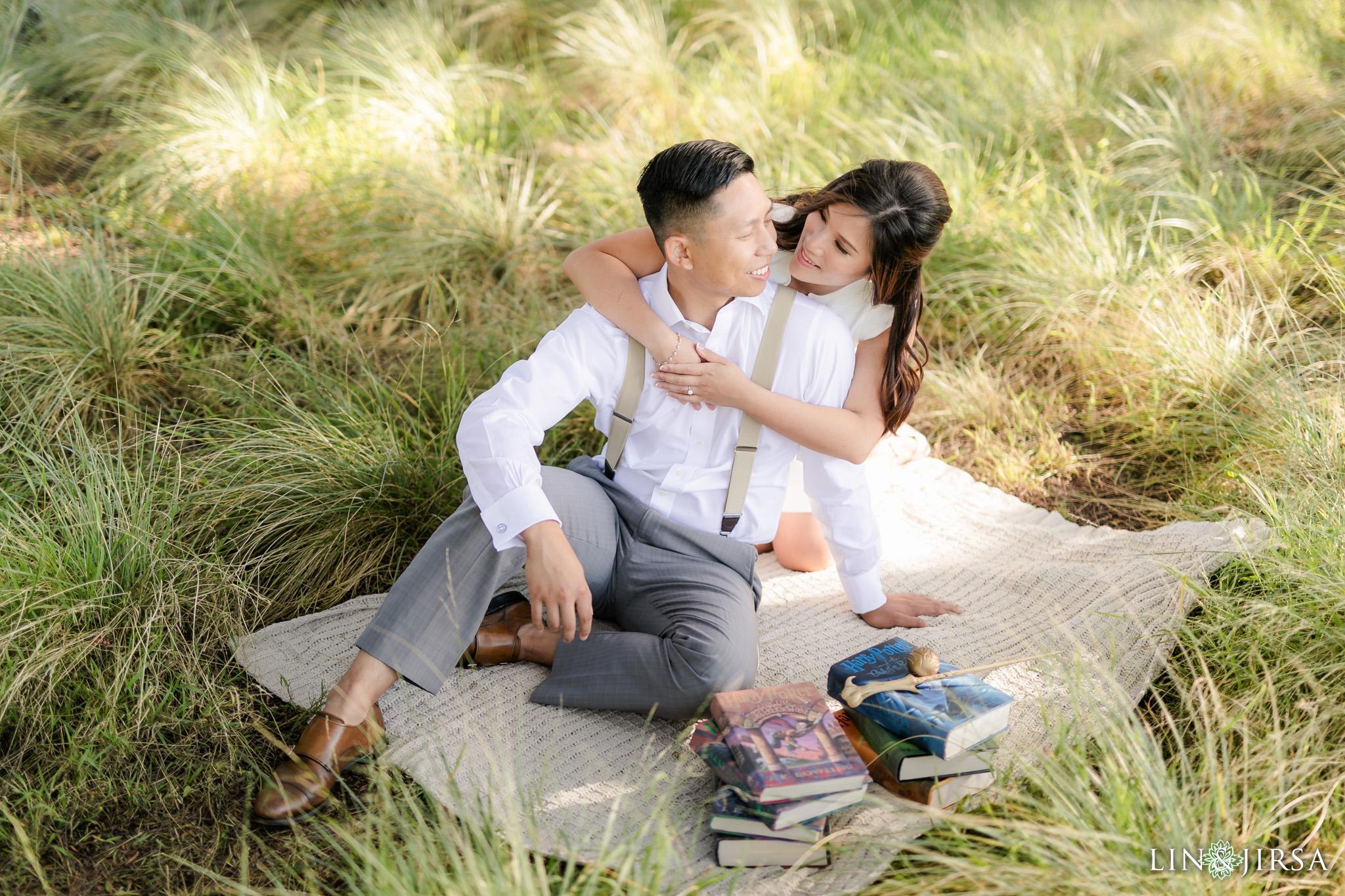 zak Harry Potter Quail Hill Engagement Photographer